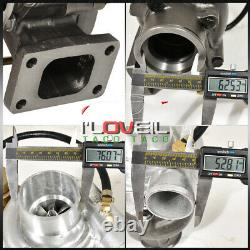 T04E T3/T4.63 Turbo Compressor 300+Hp With Internal Wastegate V-Band For Toyota