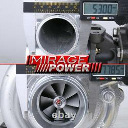 T3 Flange T04E. 63AR Turbocharger. 63 A/R Stage 3 Turbo 400HP+ Universal Upgrade