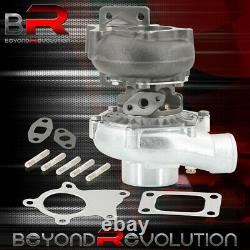 T3/T4 T04E Turbo Charger High Performance 8 Blade Compressor 400HP+ with Wastegate