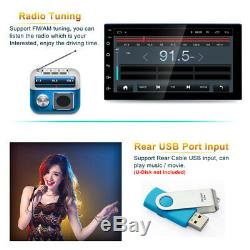 Touchscreen 7'' Android 8.1 2DIN Car Stereo Radio GPS Navigation Wifi AM/FM BT
