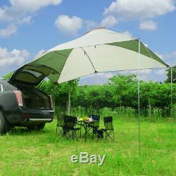 Trailer Awning Sun Shelter Auto SUV Awning Canopy Camper Tent Roof Top Camping
