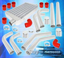 Turbo Charger Front Mount Intercooler Fmic 2.5 Piping Kit Couplers Clamps