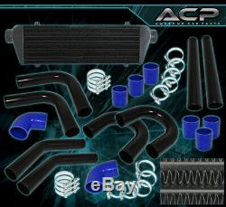 Turbo Charger Front Mount Intercooler Fmic + 2.5 Piping Kit + Couplers + Clamps