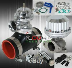 Turbo Parts 3 Blow Off Valve BOV Pipe/ 38Mm Waste Gate/ Boost Controller Bk