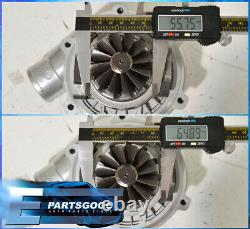 Universal 1.6L To 2.3L Engine JDM T04E T3/T4 Turbo Charger. 57A/R Trim T3 Flange