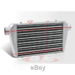 Universal Front Mount Intercooler Racing 24X11X3 Tube And Fin 2.5 Inlet