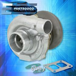 Universal T4 T04B Boost Turbo Charger Dual Twin Scroll Ct26 V6 V8 Engine Upgrade